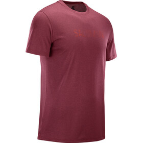 Salomon Agile Graphic Camiseta Hombre, biking red